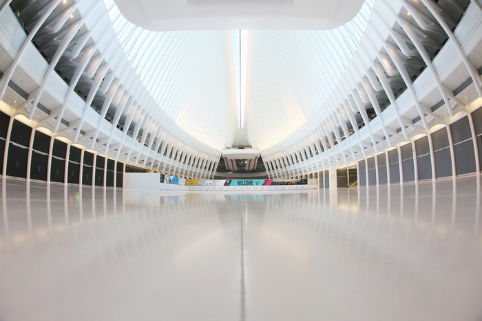 Santiago Calatrava's $4 Billion Transportation Hub Is a Genuine People's Cathedral
