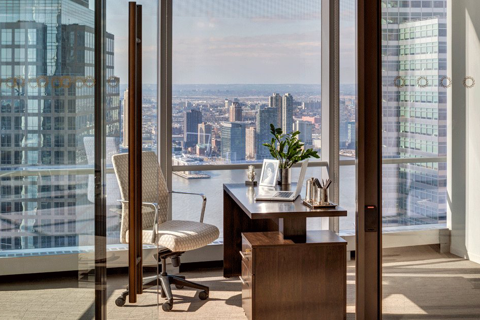 Executive office space nyc silver suites offices at 4 wtc for Silver towers leasing office