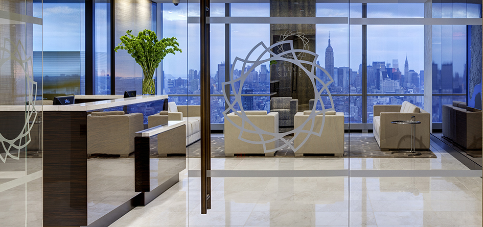 Executive office space nyc silver suites offices at 7 wtc for Silver towers leasing office