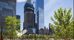 WTC Developer Larry Silverstein Celebrates Topping Out of 3 World Trade Center