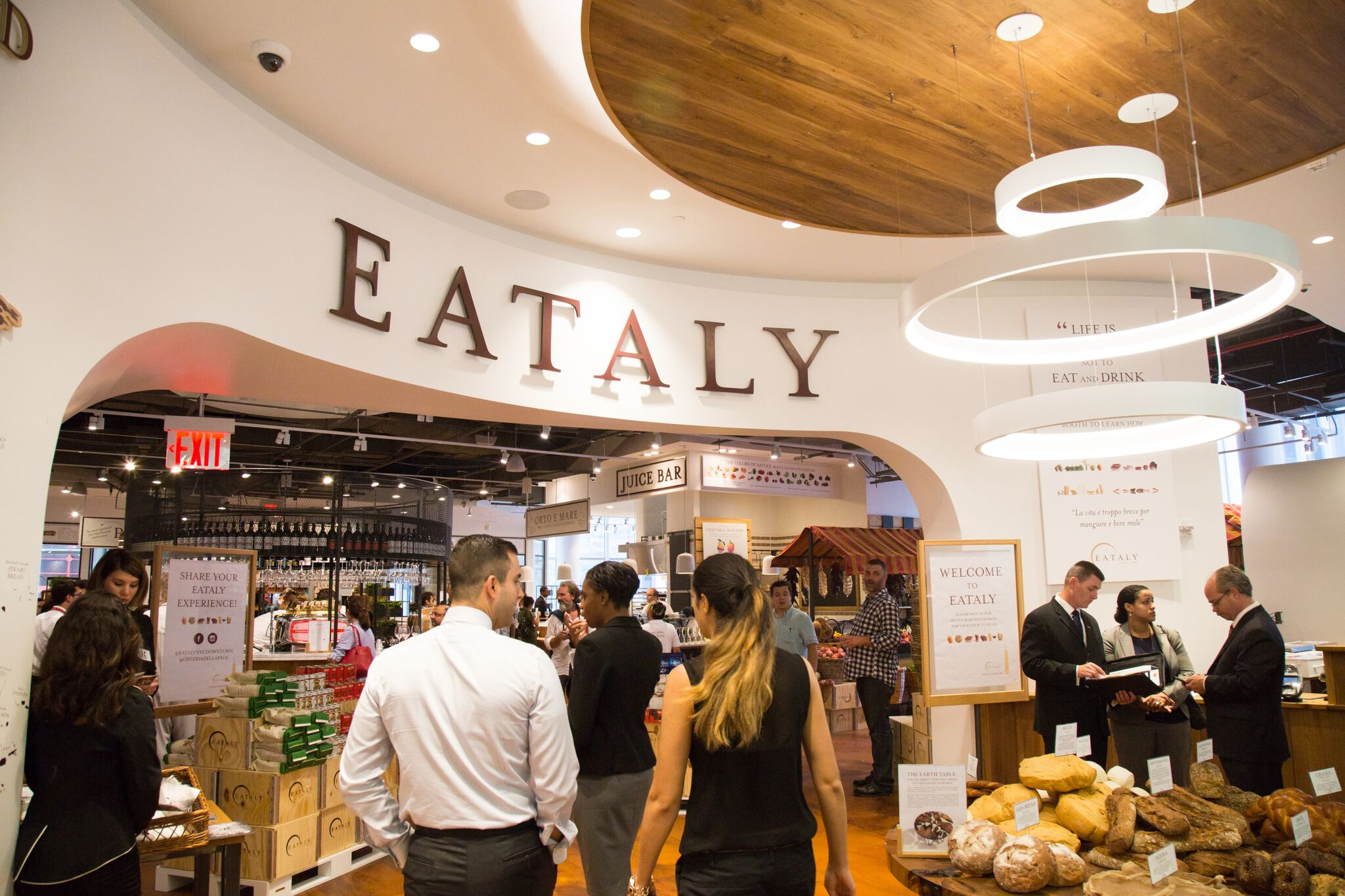 Eataly will open its second location in New York this month in the Financial District at 4 WTC